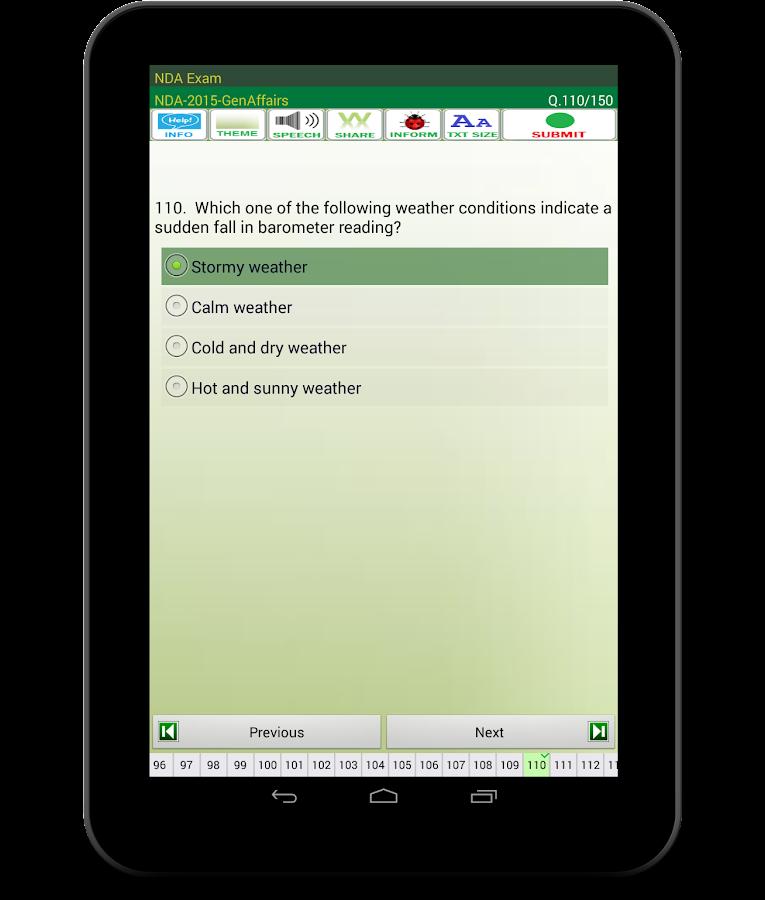 Nda exam android apps on google play nda exam screenshot fandeluxe Images