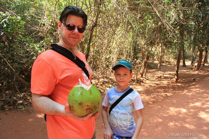 Наш кокос в Камбодже