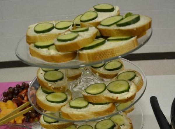 Cucumber Tea Sandwiches Recipe