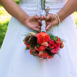 flowers by Laura Burnett - Wedding Bride ( wedding, day, marriage, flowers, bride )