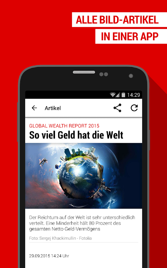 BILD App: Nachrichten und News- screenshot