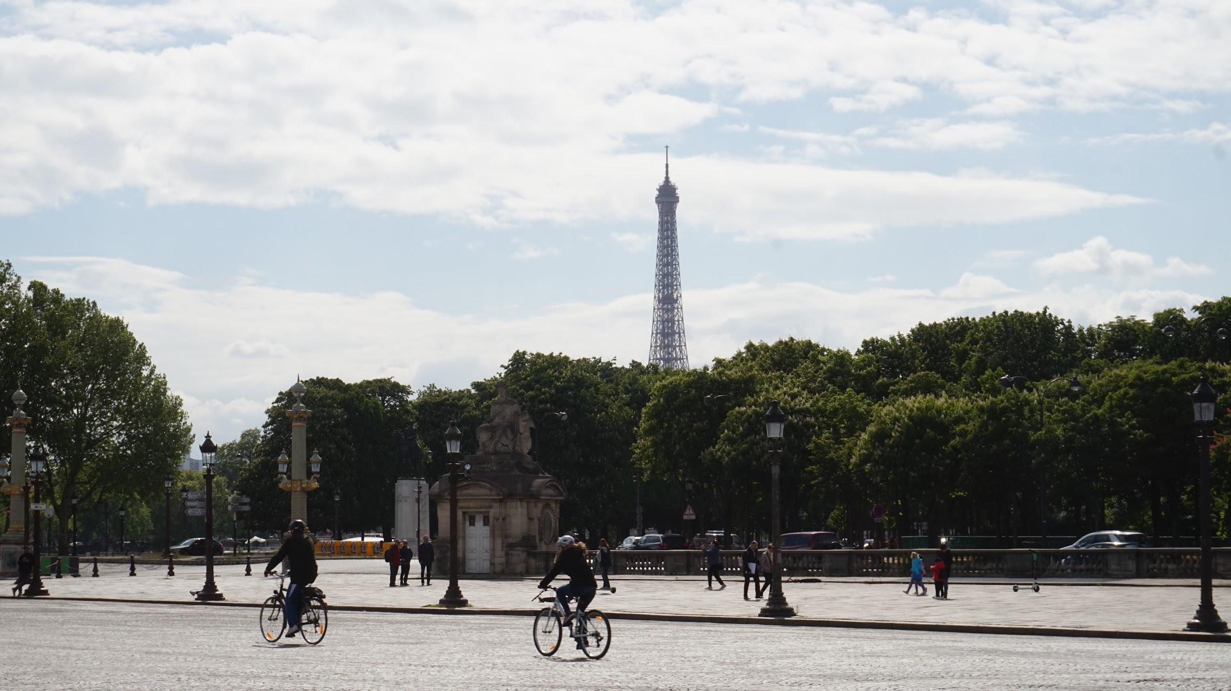 Walking Tour of Paris