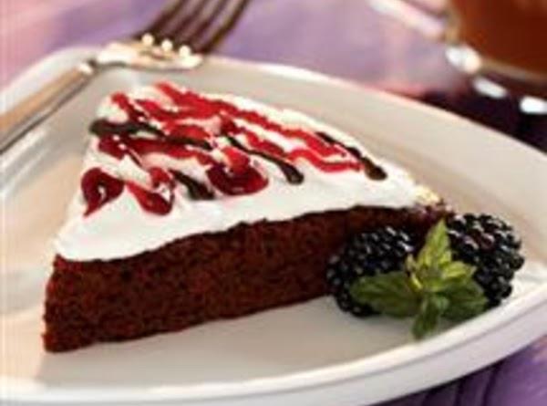 Blackberry Brownie Torte Recipe
