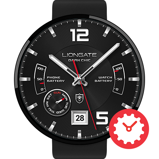 Dark Chic watchface by Liongate Icon