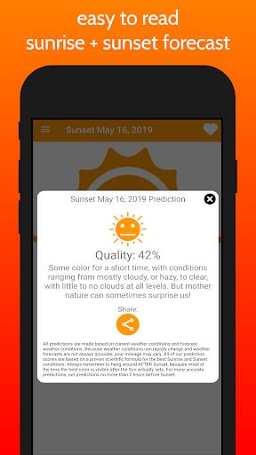 SkyCandy - Sunset Forecast App screenshots 1