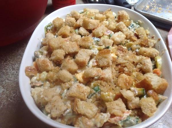 2 In One Zucchini Casserole Dish Recipe