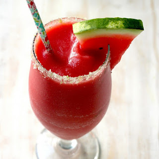 Best Ever Strawberry Watermelon Daiquiris
