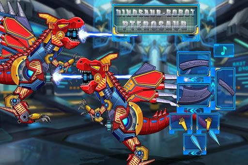 恐竜 - ロボット 翼竜