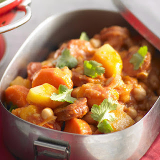 Chorizo, Chickpea and Chili Stew