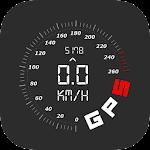 Digital Dashboard GPS Icon