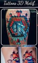 Tattoos 3D Motif - screenshot thumbnail 02