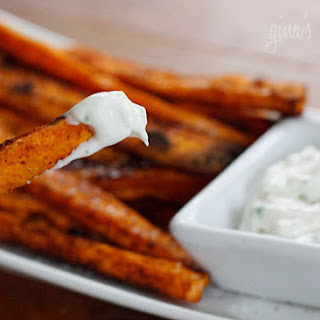 Baked Chipotle Sweet Potato Fries.