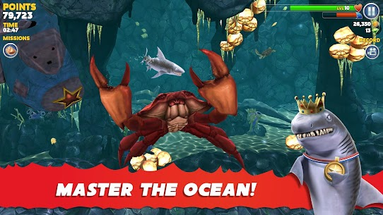 Hungry Shark Evolution Mod Apk 7.8.0 (Unlimited Money/Coins + Dimond) 8