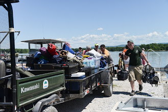 Photo: The staff will help you load the Island Runner Ferry to Burton Island State Park by Raven Schwan-Noble