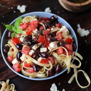Warm Greek Pasta.