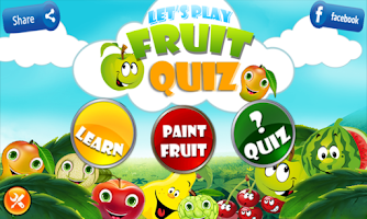 Screenshot of Fruit Quiz