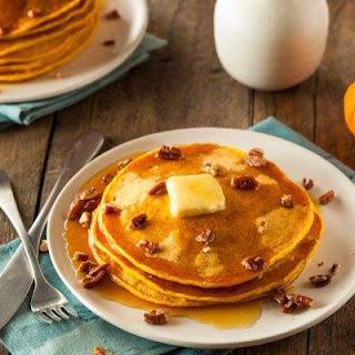 IHOP Copycat Fluffy Pumpkin Pancakes
