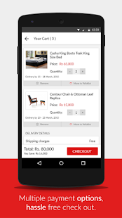 HouseFull - Online Furniture- screenshot thumbnail