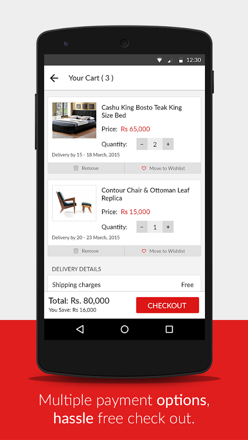 HouseFull - Online Furniture- screenshot