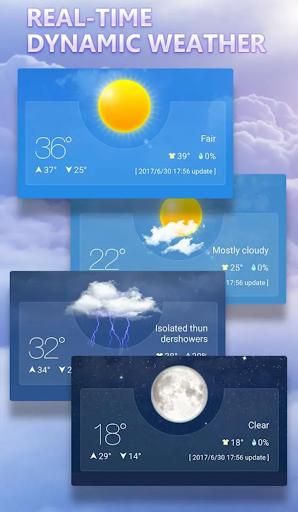 Previsão do Tempo - Tempo ao Vivo screenshot 1