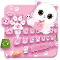 Pink Cat Lovely Keyboard icon