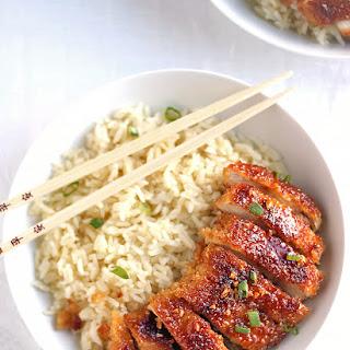 Crispy Pan Fried Honey Garlic Chicken #Recipe
