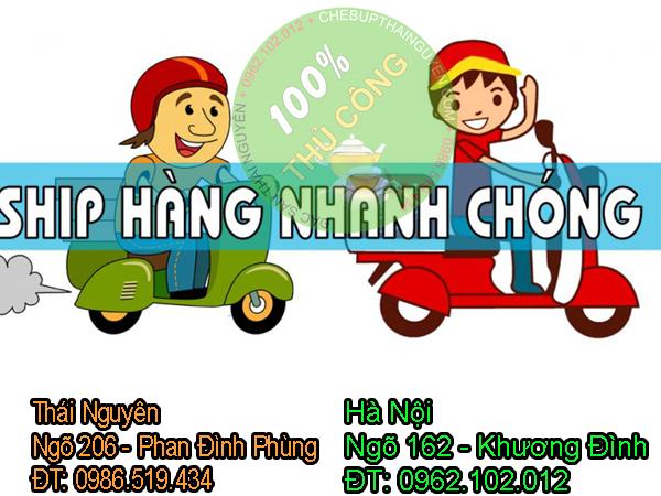 Ship hàng trong ngày tại Thái Nguyên và Hà Nội
