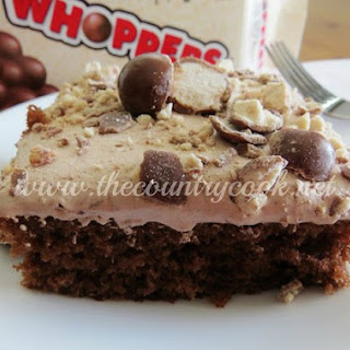 Whopper Cake ~ Malted Milk Ball Cake.