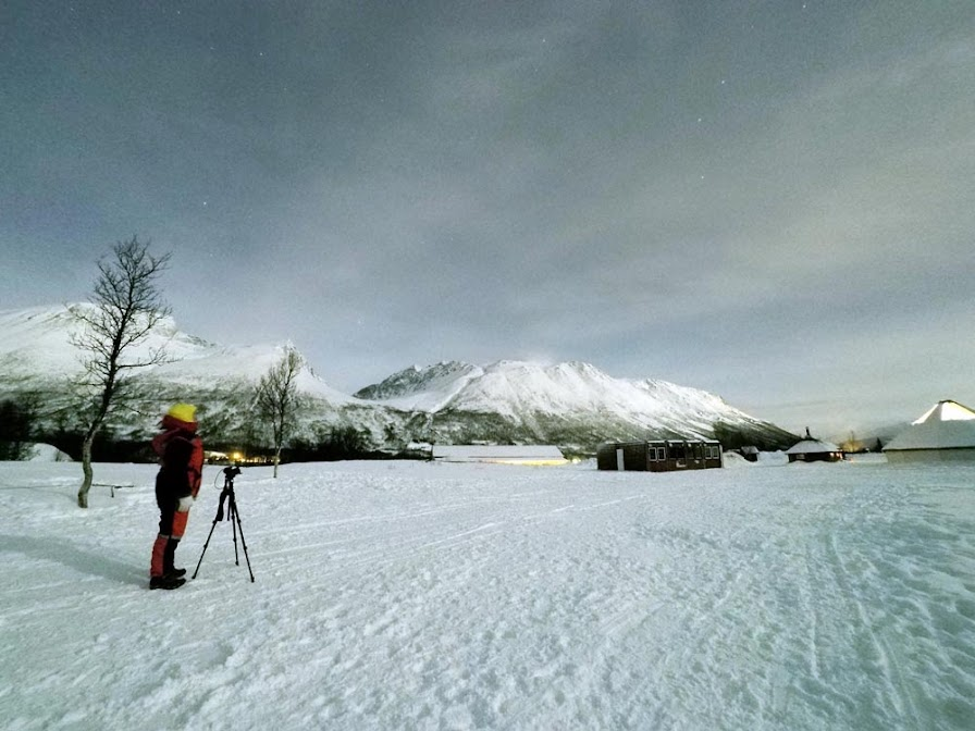 A nossa experiência a observar AURORAS BOREAIS numa Estação Base | Noruega