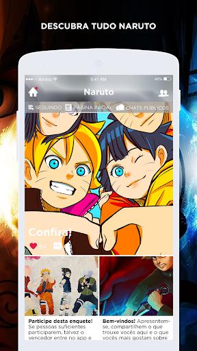 Academia Ninja Amino para Naruto em Português  screenshots 2