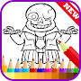 Learn Draw Undertale Sans Fans APK icon
