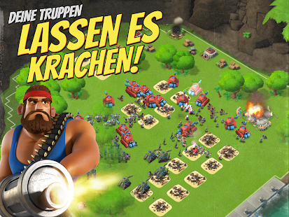 Boom Beach: Trucchi, Tipps & amp; Tricks (Android, IOS)