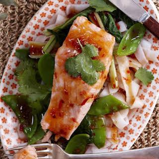 Chili Lime-Poached Salmon.