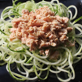 Tuna and Cucumber Noodles.