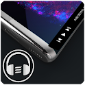 Galaxy S10/S20/Note 20 Edge Music Player icon