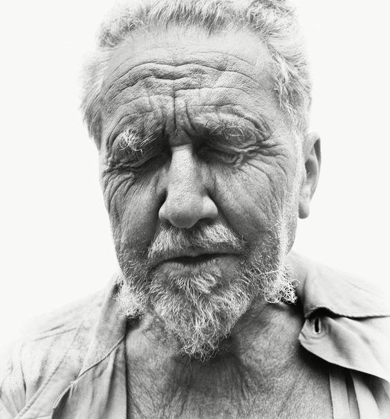 Richard Avedon, Ezra Pound, poet, Rutherford, New Jersey, at the home of William Carlos Williams, June 30, 1958