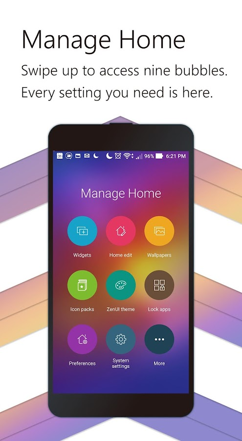 Screenshots of ZenUI Launcher-Theme,Wallpaper for iPhone
