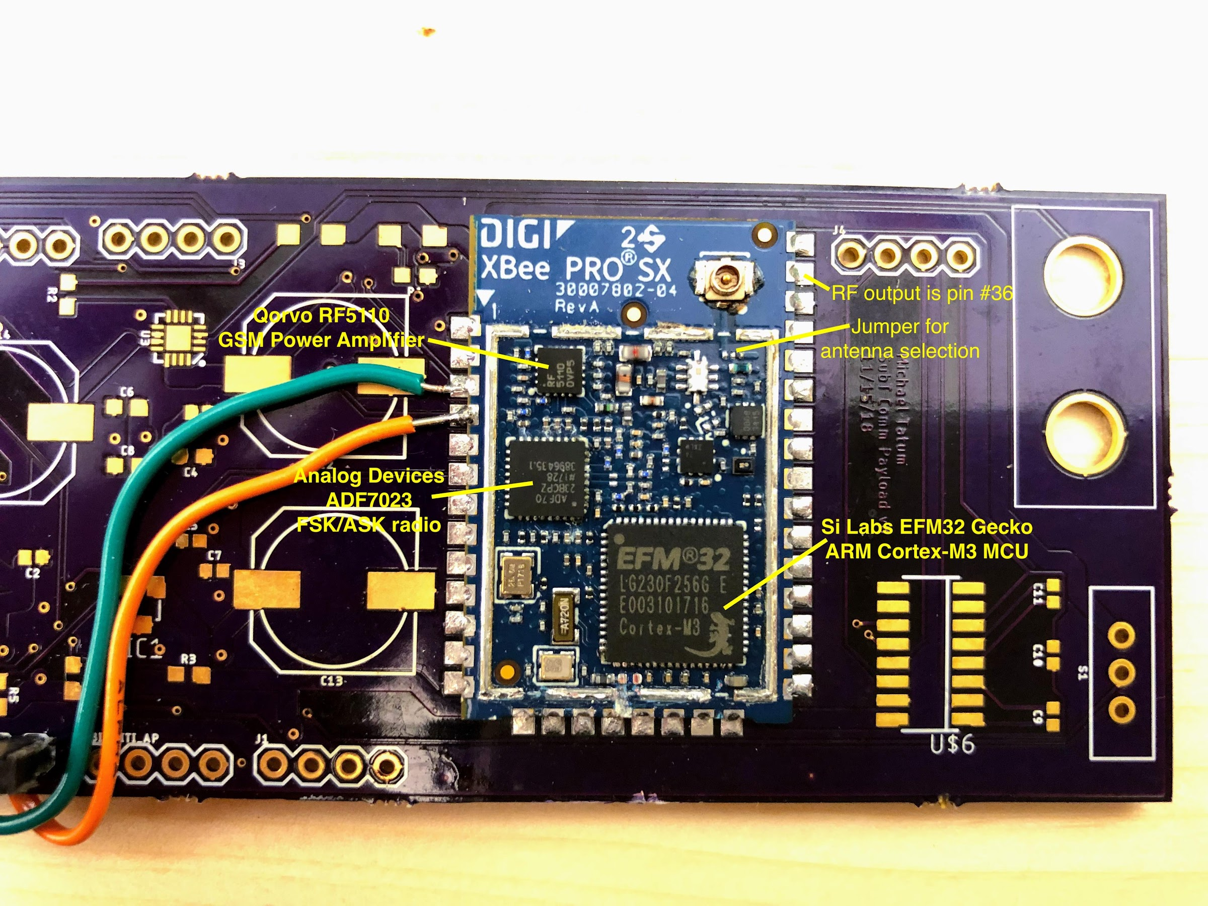 Digi XBee Pro node without the metal can
