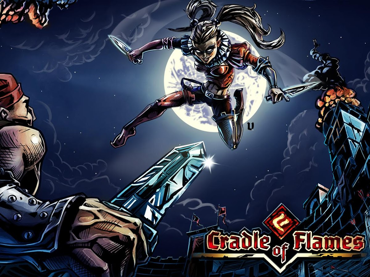 Cradle of Flames: Gothic RPG- screenshot