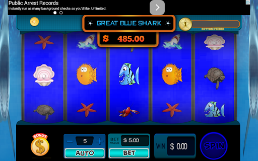 Great Blue Shark Slots