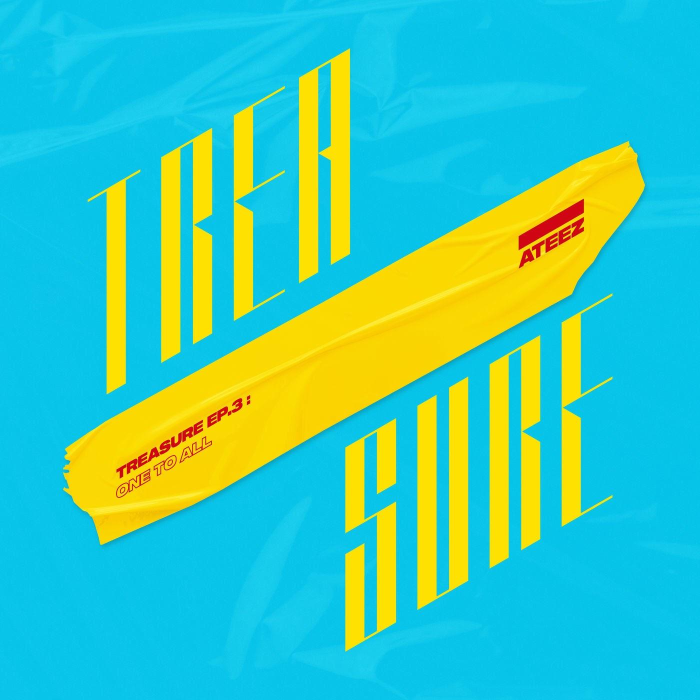 ateez TREASURE EP 3 One To All