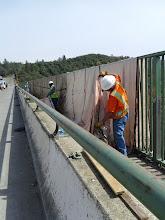Photo: moving paint tarps