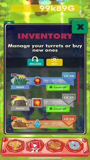 Code Triche Idle Towers apk mod screenshots 4