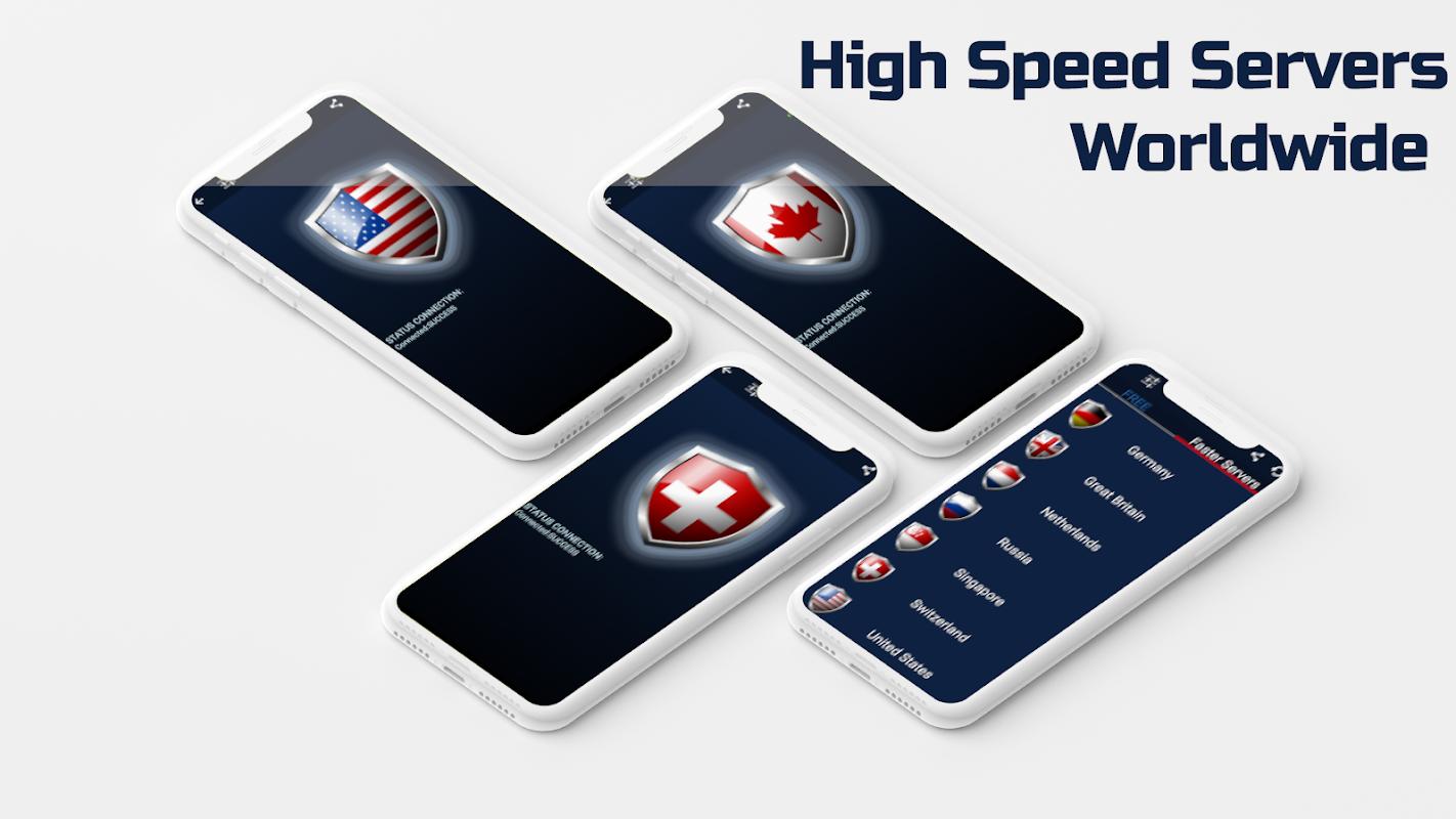 FREE VPN - Unlimited Fast Secure Hotspot screenshots