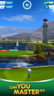 Flick Golf! Free- screenshot thumbnail