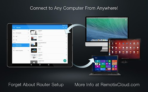 Remotix VNC, RDP, NEAR (Remote Desktop) Screenshot