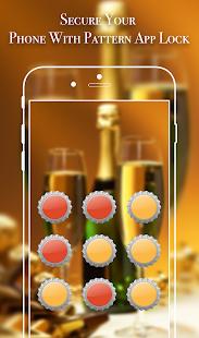 App Lock Theme - Bottle Cap - náhled