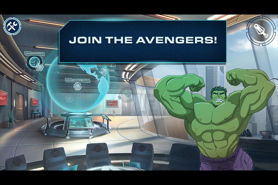 AvengersNet- screenshot