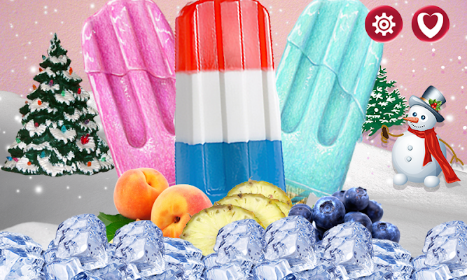 Ice Pops Maker - screenshot