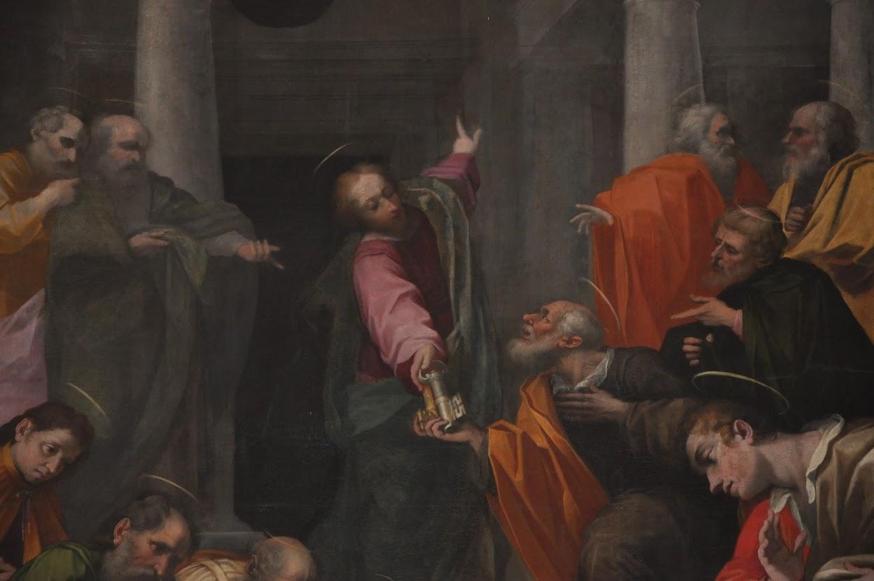 Pala altare maggiore (particolare)